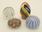 Lot of Four Art Glass Paperweights #15