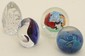 Lot of Four Art Glass Paperweights #16