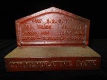 Cast Iron Bank