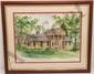 M. Jefferson Watercolor 'Red Cross Ft. Riley Kansas'