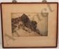 Hiroshi Yoshida 1928 Woodblock Print 'Summit of Fuji'