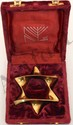 Alef Judaica Brass Star of David