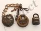 Lot of Vintage Locks