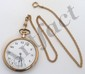 Elgin Open Face Pocketwatch with Watch Chain