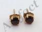 14 Kt Gold Gemstone Earrings #2