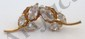 14 Kt Gold Gemstone Earrings #3