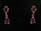 14 Kt Gold Gemstone Earrings #5