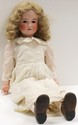 Gebruder Krauss German Bisque Head Doll 32