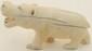Hand Carved Ivory Hippopotamus