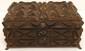 German Tramp Art Hinged Top Box Dated 1908