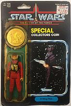 STAR WARS POWER OF THE FORCE B-WING PILOT ACTION FIGURE
