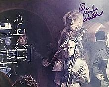 STAR WARS COLOR GLOSSY PHOTO SIGNED BY PETER MAYHEW