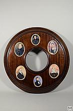 (6) Portrait Miniatures by Samuel John Stump