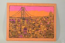 Black Light Psychedelic Neon Art - San Francisco