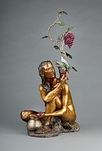 Mother Vine, bronze sculpture by Rip Caswell