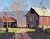 Century Farm, oil painting by Eric Bowman