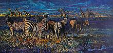 The Great Savannah, oil painting by Terry Lee