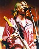 Kurt Cobain signed photograph