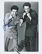 Joe Pesci & Robert Di Niro, 'Raging Bull' Autographed publicity photograph