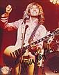 Peter Frampton Autographed publicity photograph