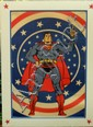 Superman  A quad sized matt finish poster