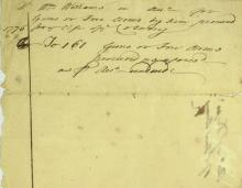 Founding Father WILLIAM WILLIAMS - 1776 Doc Signed