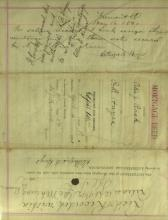RUTHERFORD B HAYES - Legal Document Signed