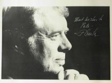 JIMMY CARTER - Photograph Signed