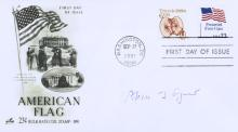 Disgraced VP SPIRO AGNEW - Postal Cover Signed