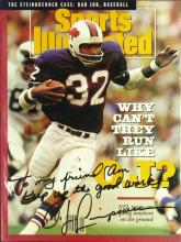 Felon, NFL HOFer O J SIMPSON - SI Signed