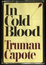 TRUMAN CAPOTE - In Cold Blood Signed, 1st Printing