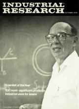 Noble Winning Physicist JOHN BARDEEN - Magazine Signed