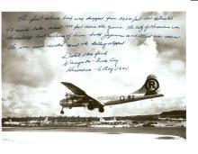 DUTCH VAN KIRK - Enola Gay Photo With Mission Statement