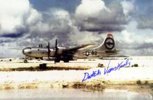 DUTCH VAN KIRK - Enola Gay Photo Signed