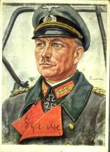 German Gen HEINZ GUDERIAN - Photo Signed