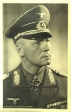 German Gen EDWIN ROMMEL - Photo Signed