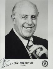 Celtic Coach RED AUERBACH - Photo Signed