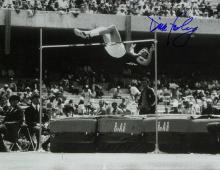 High-Jumper DICK FOSBURY - Large Photo Signed