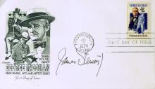 Actor JIMMY STEWART - Postal Cover Signed