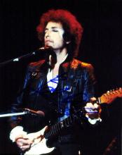 Singer, Song-writer BOB DYLAN - Photo Signed