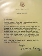RONALD REAGAN - Typed Letter Signed Controversial Japan Trip