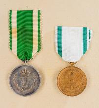 Duchy of Anhalt: Lot of Medals.