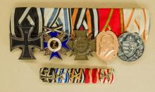 Imperial Five Piece Medal Bar.