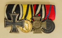 Imperial Four Piece Medal Bar.