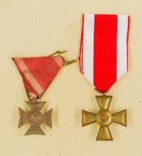 Grand Duchy of Frankfurt: Lot of Long Service Crosses.