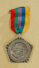 Egyptian Medal to Russian Builders of the Aswan Dam.