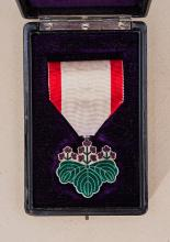WWII Japanese Order of the Rising Sun 7th Class.