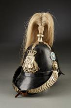 Early Bavarian Parts Spiked Helmet.