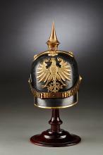 Free City of Frankfurt Line Officer's Infantry Helmet 1860.
