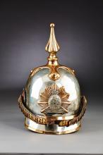 Mecklenburg-Schwerin Dragoon Enlisted Helmet 1848.